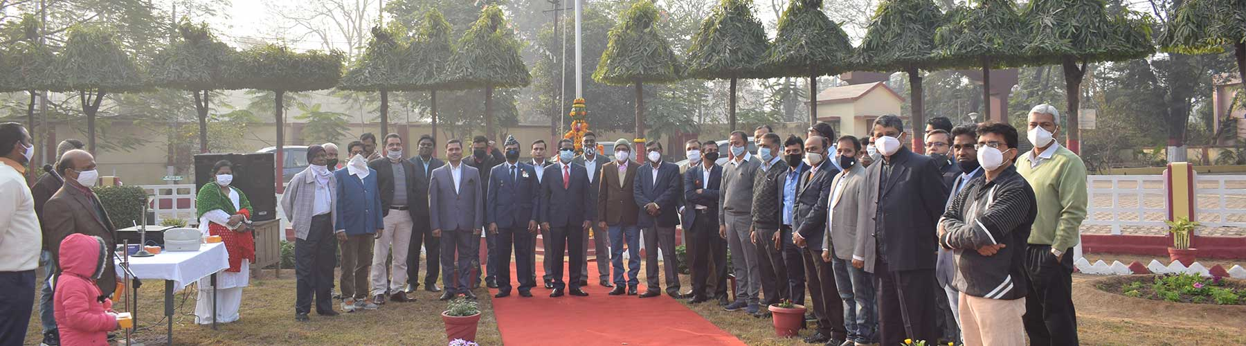 72 nd Republic day celebration at DGMS Dhanbad. 26.01.2021